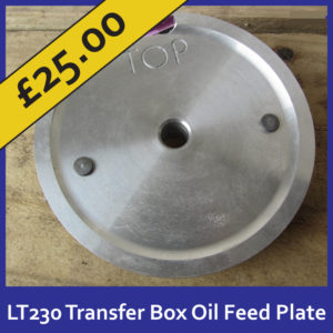 Special Offer LT230 Transfer Box Oil Feed Plate