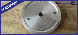 land rover oil feed plate