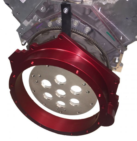 LS3 to Mercedes ML500 gearbox adapter
